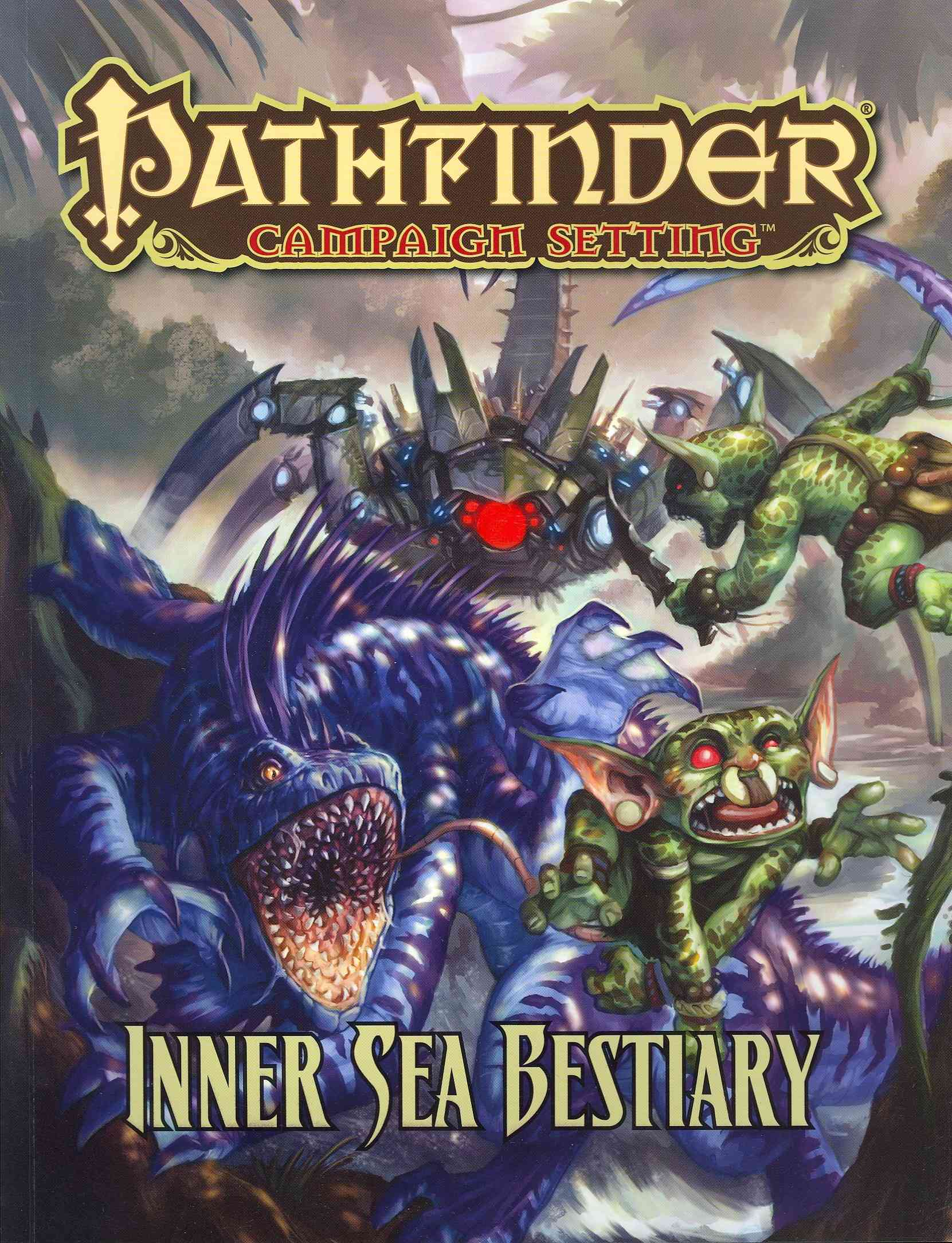 Inner Sea Bestiary By Mona, Erik